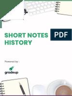 Short notes ancient history