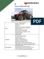 Tractor Versatile260