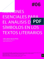 Nociones esenciales para el análisis de los símbolos en los textos literarios