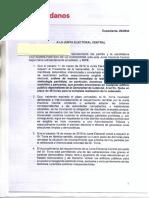 Denúncia de Cs a la Junta Electoral