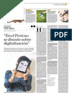 En El Perú No Se Discute Sobre Digitalización