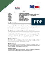 150626 MBA G - Matemáticas Financieras MBAGI PiuraXVII