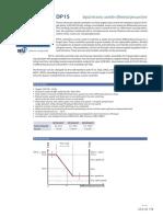Controler Electronic Digital Diferential Presiune Timp DP1S Fisa Tehnica