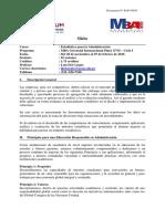 151026 MBA G - Estadística Para La Administración