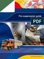 Fire suppresssion guide