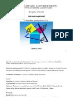 Curriculum Matematica Aplicativa Cl Ix