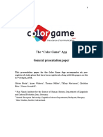 General Presentation Color Game Original