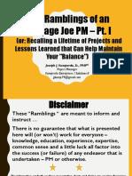 Pmi Mile Hi Presentation Nov 2017 Part i 171103 v02