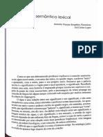 A Semântica Lexical, Texto 2