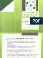 Físico-química y Elementos de Microbiología y Parasitología Listo