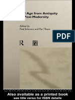 Old Age from Antiquity to Post-Modernity (Routledge Studies in Cultural History, 1)