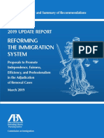 American Bar Association Report on Immigration