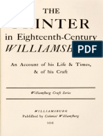 The Printer in Eighteenth-Century Williamsburg by Parke Rouse