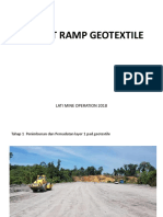 Project Ramp Geotextile_lmo