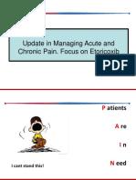 Dr. Natsir Update in Managing Acute and Chronic Pain. Focus on Etoricoxib