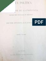 Carta Política Del Gobernador de La Provincia