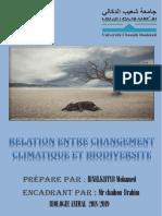 CHANGEMENTclimatiqe et biodiversit1e.docx