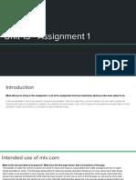 unit 13 assignment 1