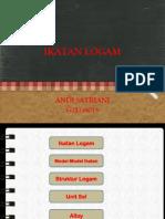 PPt. ikatan Logam