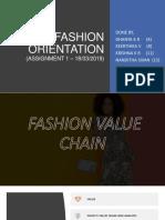 Fashion Orientation Ppt