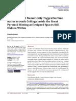 Hemiunu Used Numerically Tagged Surface Ratios to