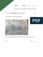 research paper note card rubric  1