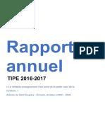 2017 Rapport TIPE