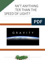 Razones Por Las Que No Se Puede Viajar o Inclusive Superar La Velocidad de La Luz