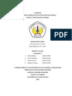 Laporan Praktikum APK & E Peta Kerja