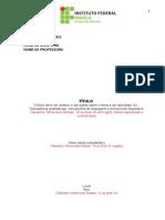 Modelo de Pré Projeto 1