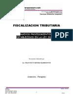 Procedimientos de Fiscalizacion Tributaria. Francisco Mendez Barrientos 1.doc
