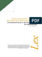 Dialnet-LimitesConstitucionalesALasFacultadesDiscrecionale-5278269