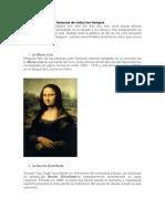 Analisis de Las 20 pinturas más famosas de todos los tiempos.docx
