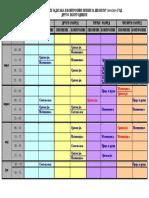 Raspored Pismenih Kontrolnih 1 4 2 Polugodiste