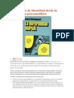 1 El concepto de identidad desde la perspectiva psicoanalítica 2.docx