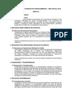 Anexo 4 Clasificador Ftes Financiamiento RD003 2019EF5001