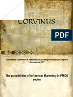 Possibilities of influencer marketing in fmcg sector