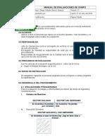 Procedimiento de Evaluaciones de Campo (2)