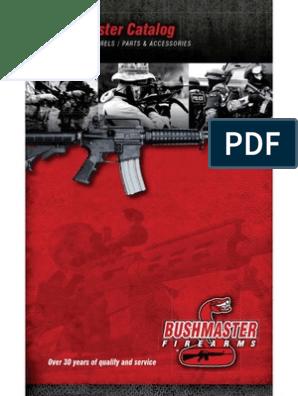 Bushmaster Parts & Accessories Catalog   Gun Barrel