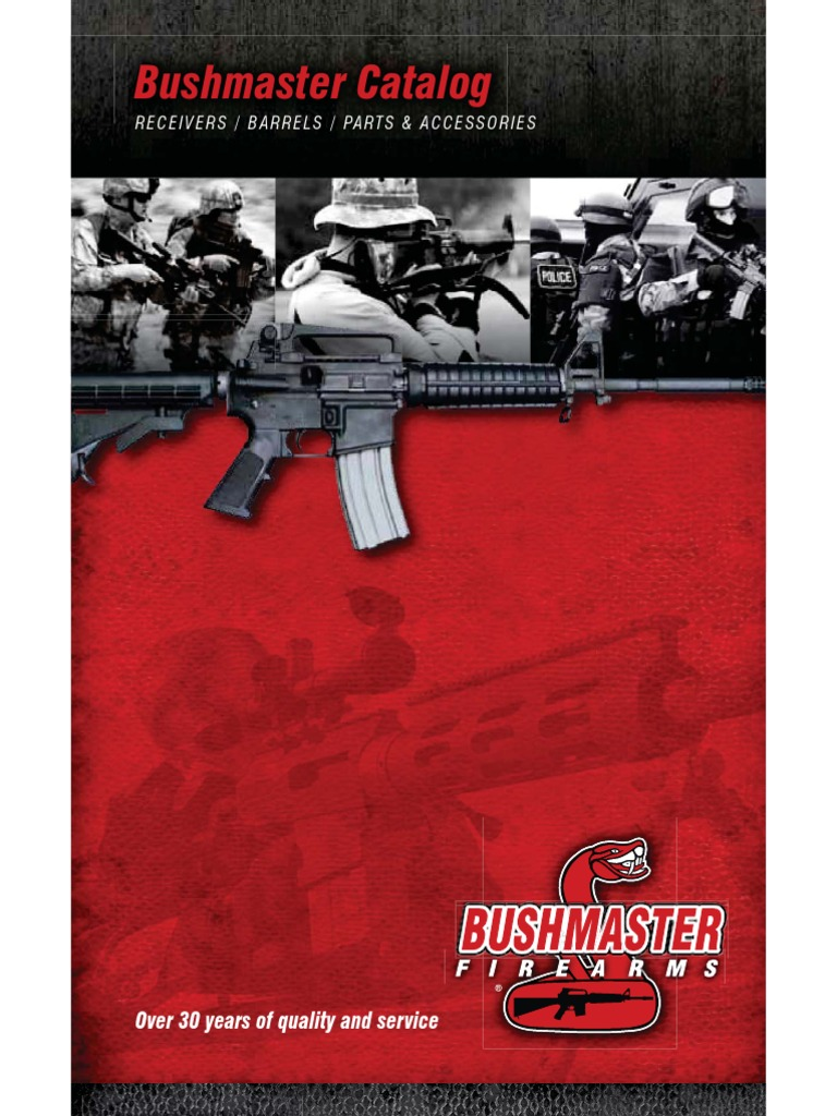 Bushmaster Parts & Accessories Catalog | Gun Barrel