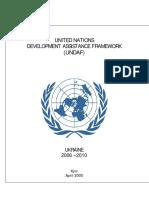 Ukraine UNDAF