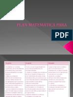 Plan matemática para todos.ppt
