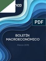 Boletín Macroeconómico - Marzo 2019_0