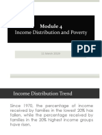 Module 4 Income Distribution and Poverty