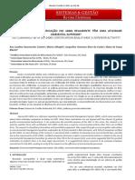 AS EMPRESAS COM CERTIFICAÇÃO ISO 14001 REALMENTE TÊM UMA ATIVIDADE AMBIENTAL SUPERIOR?