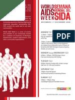World AIDS Week Newsletter 2008 (University of Michigan Spectrum Center)