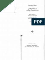 Kant-La Metafísica de Las Costumbres (Selección UAI)
