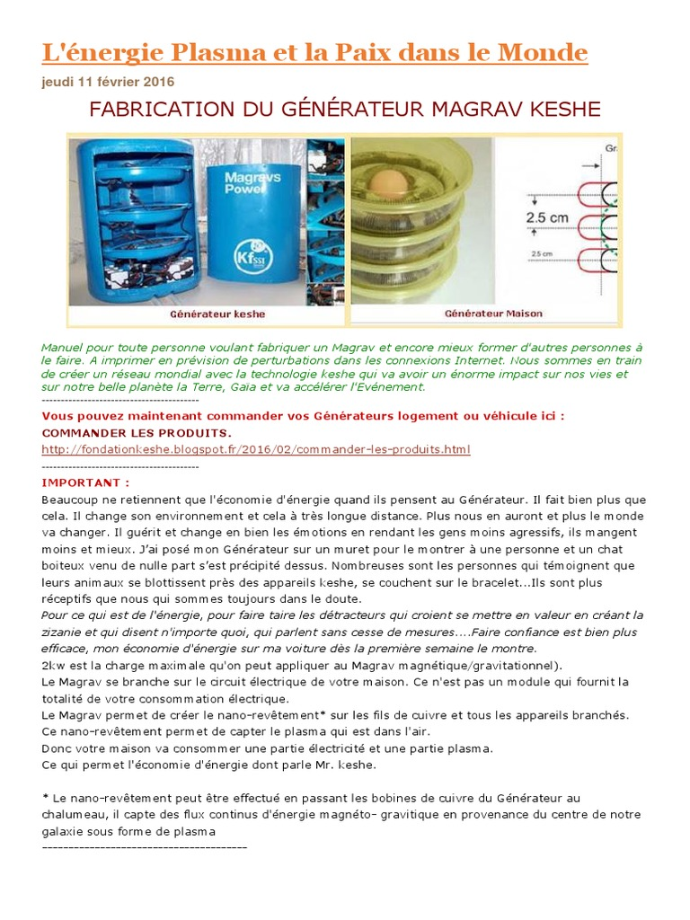 Kaufen unit magrav power MagravPowerTech an