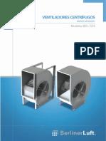 Catálogo ventiladores centrífugos