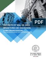 Decreto854 de 2004